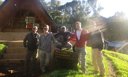 Mandara-Huts - Mount Kilimanjaro