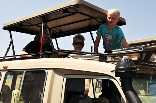 Frank and Charlotte Blåbjerg recommending travelling with Godson Adventures